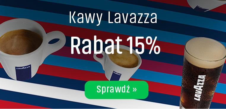 Kawy Lavazza z rabatem  -15%