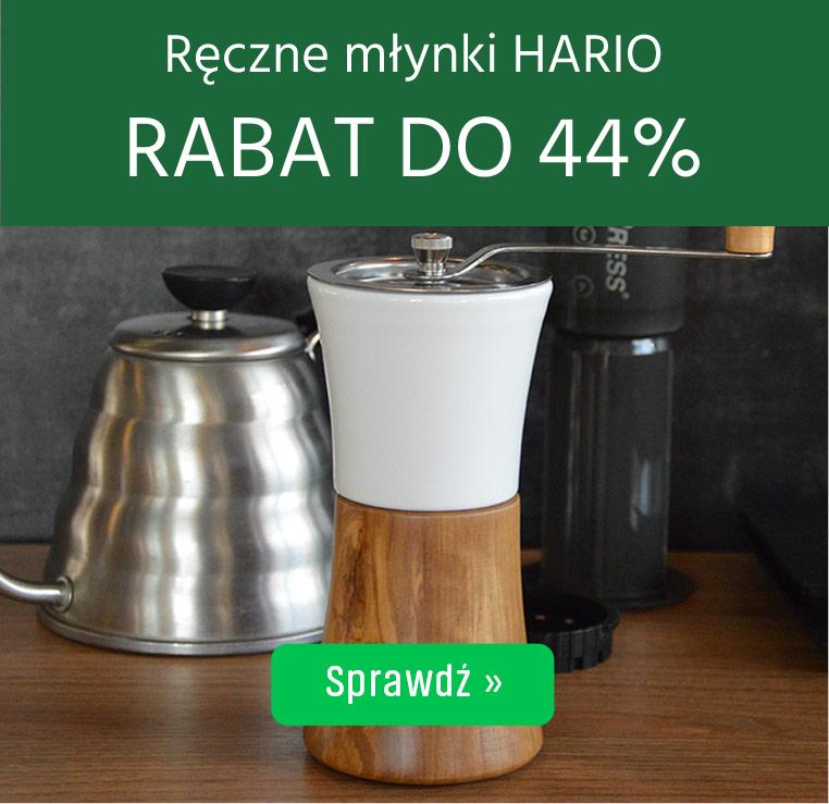 Ręczne młynki Hario z Rabatem do 44%