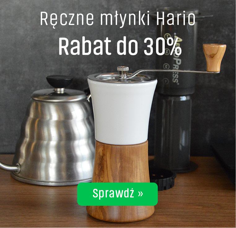 Ręczne młynki Hario z Rabatem do 30%