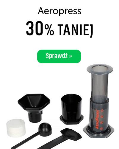 Zaparzacz do kawy Aeropress 30% Taniej