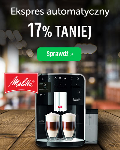 Ekspres automatyczny Melita TS Smart 17% Taniej
