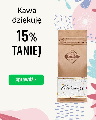 KAWA ZIARNISTA ETNO CAFE DZIĘKUJĘ 250G 15% taniej