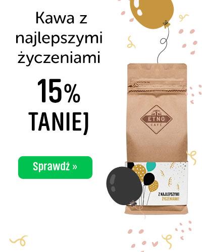 Kawa z najlepszymi życzeniami 15% Taniej
