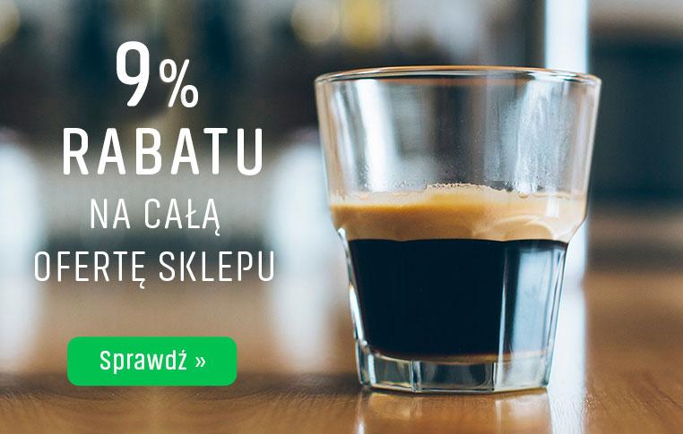 9% Rabatu na całą ofertę sklepu