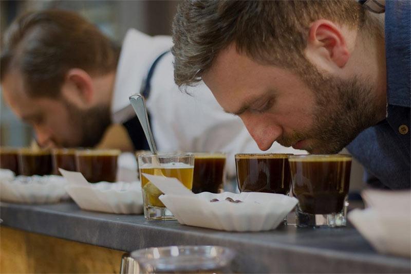 Kontrola smaku kawy Story
