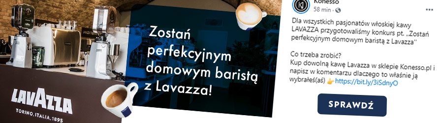 Zostań perfekcyjnym baristą z Lavazza