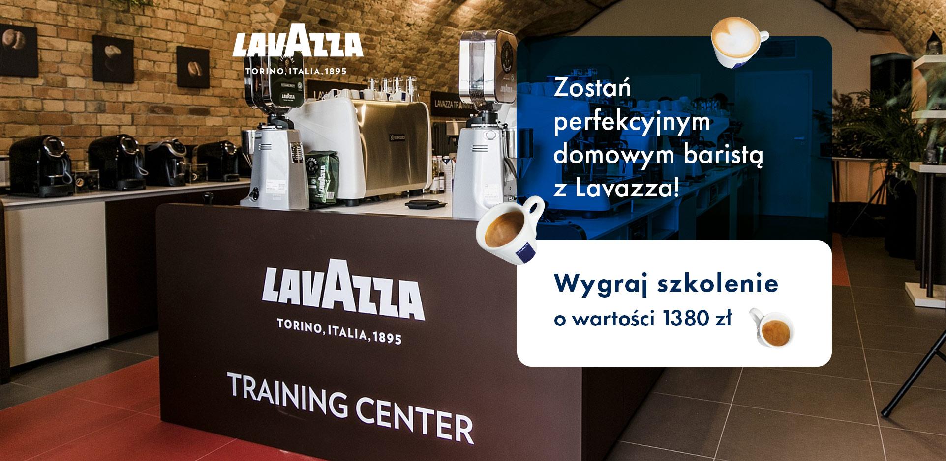 Zostań perfekcyjnym domowym baristą z Lavazza