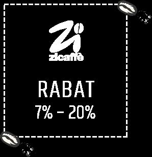 Kawy Zicaffe z rabatem od 7% do 20%
