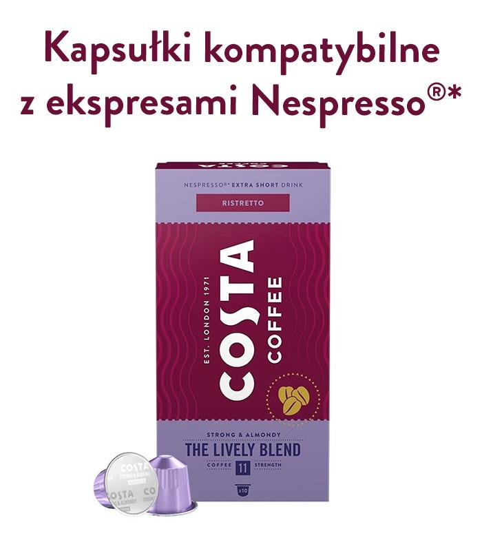 Kawa w kapsułkach Costa Coffee do nespresso