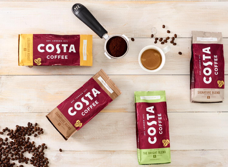 Kawa ziarnista Costa Coffee Home Edition