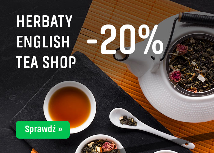 Herbaty                      English Tea Shop -20%