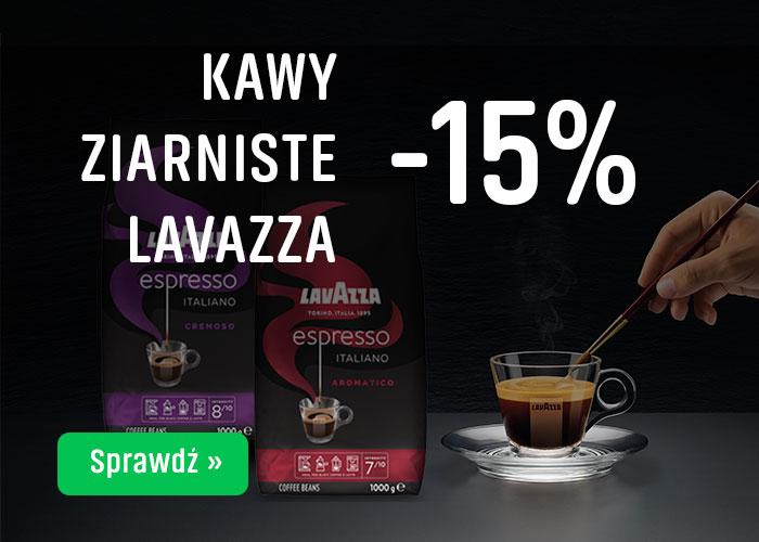 KAWY                      ZIARNISTE LAZAVAZZA -15%