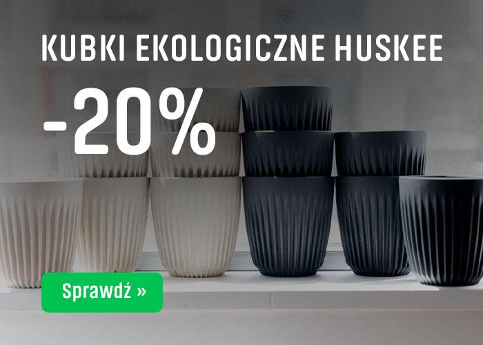 Kubki ekologiczne HUSKEE                      -20%