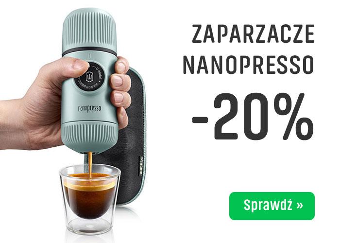 Zaparzacze nanopresso -20%