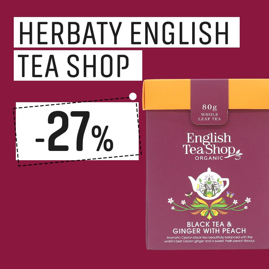Herbaty English Tea Shop 27% Taniej