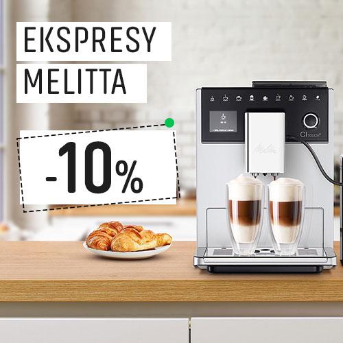 Ekspresy Melitta 10% Taniej