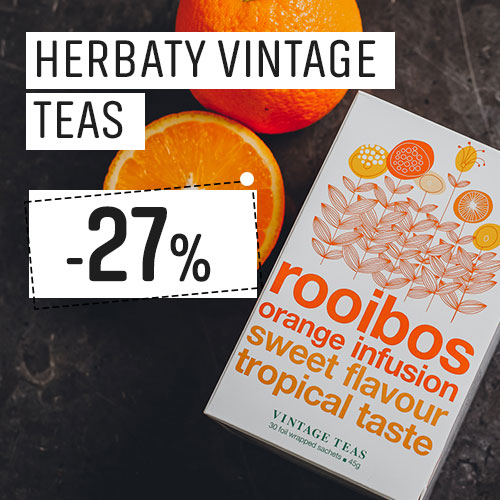 Herbaty Vintage Teas -27% Taniej