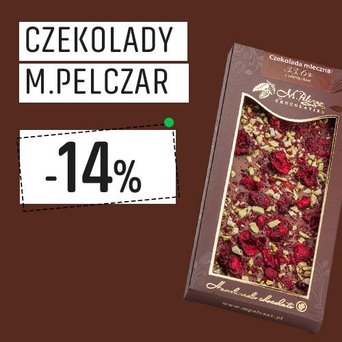 Czekolady M.Pelczar -14% Taniej