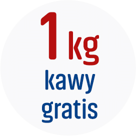 1 kg kawy ziarnistej Gratis