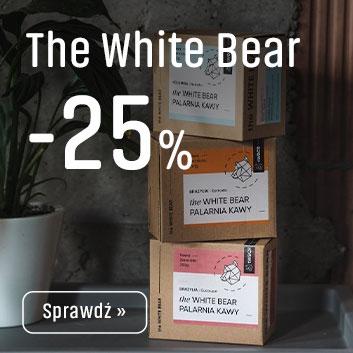 Kawy The White Bear z Rabatem -25%