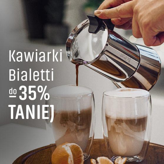 Kawiarki Bialetti do 35% taniej
