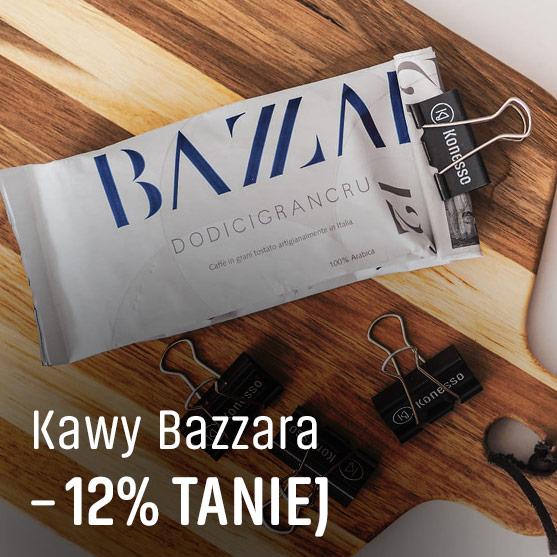 Kawy Bazzara -12% Taniej