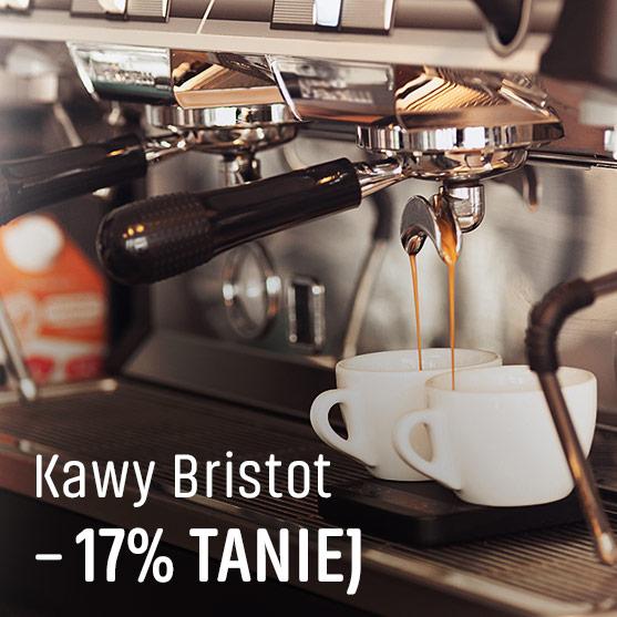 Kawy Bristot -17% Taniej
