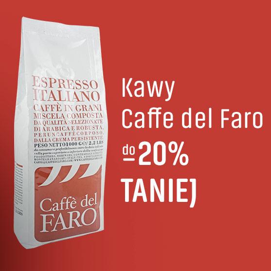 Kawy Caffe del Faro -20% Taniej