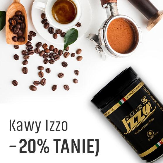 Kawy Izzo 20% Taniej