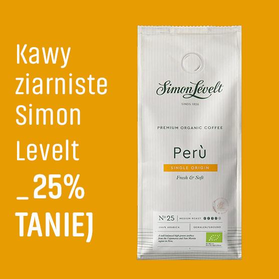 Kawy ziarniste Simon Levelt -25% Taniej