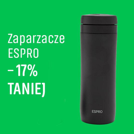 Zaparzacze Espro -17% Taniej