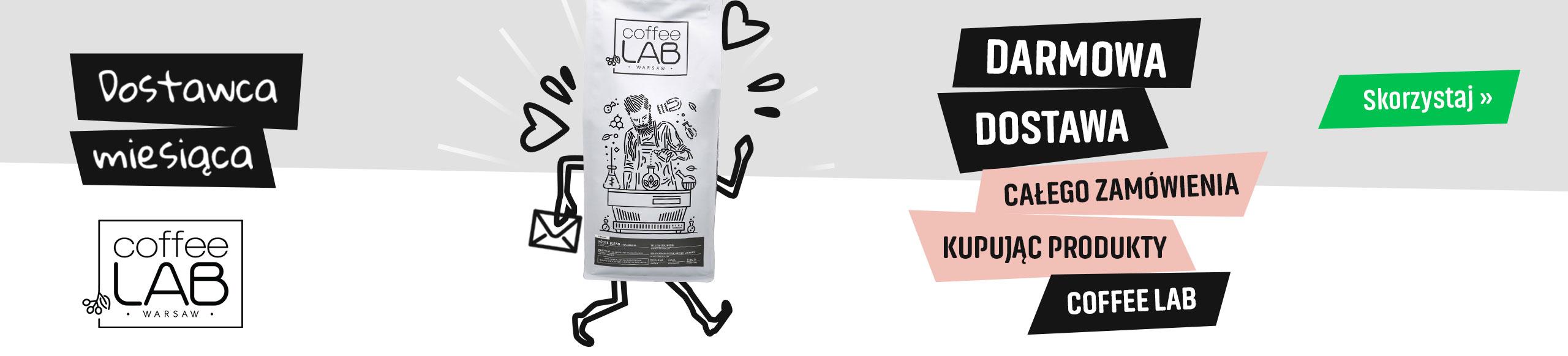 Darmowa Dostawa kupując produkty palarni Coffee Lab