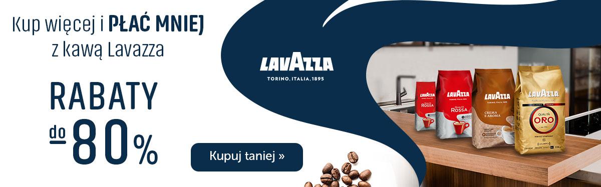 Kup więcej i płać mniej za kawę Lavazza - Rabaty do -80%