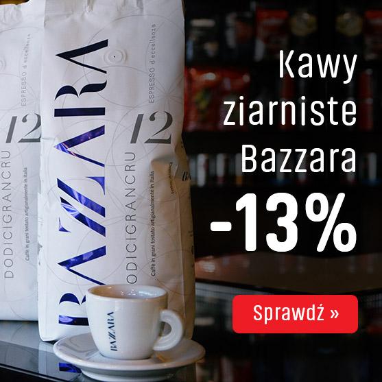 Kawy ziarniste Bazzara z rabatem -13%