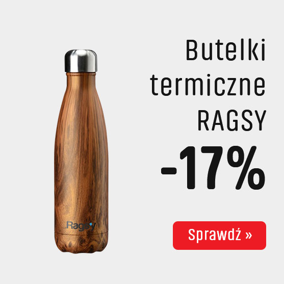 Butelki termiczne Ragsy z Rabatem -17%