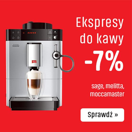Ekspresy do kawy z rabatem - 7%