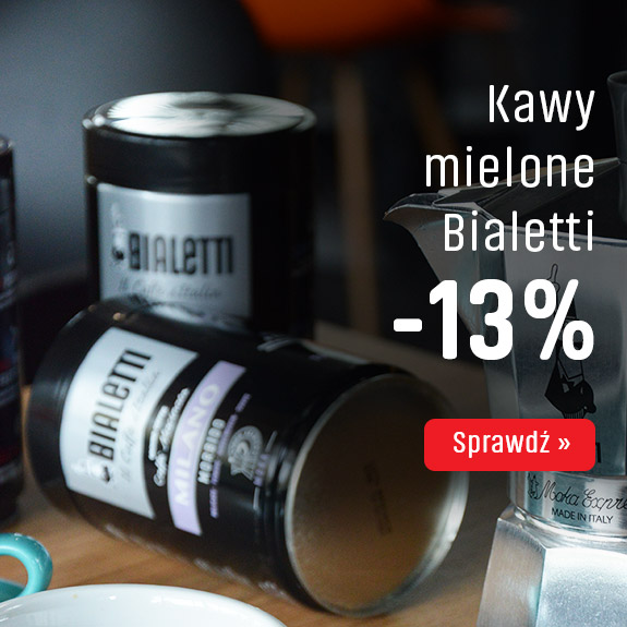 Kawy mielone Bialetti z rabatem -13%