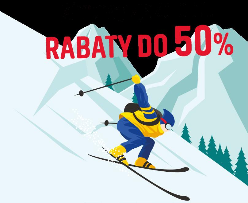 Zimowy zjazd cen z rabatami do 50%