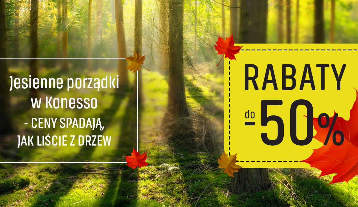 Ceny spadają jak liście z drzew - rabaty do -50%