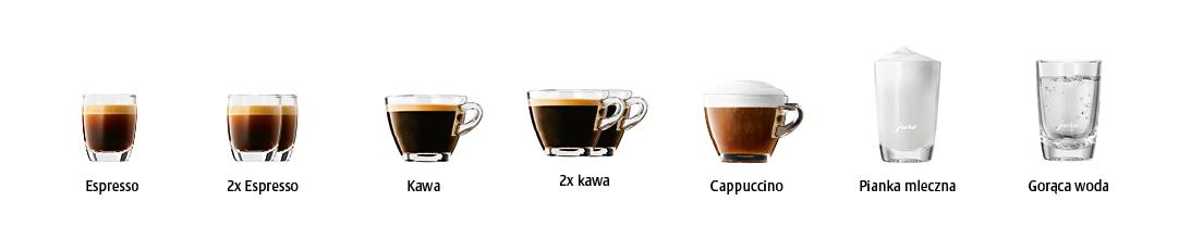 Specjały kawowe w ekspresie Jura D60