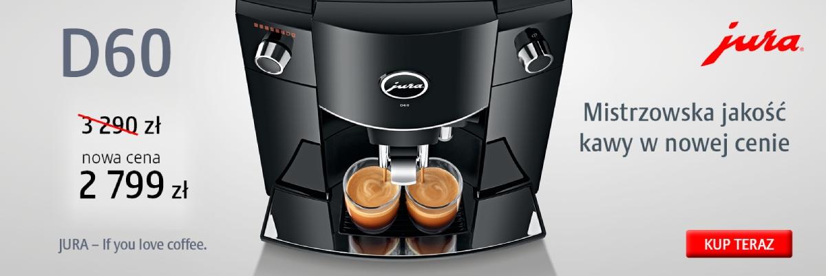 Ekspres do kawy Jura D60 w specjalnej cenie