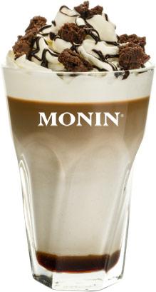 przepis na kawę latte brownie