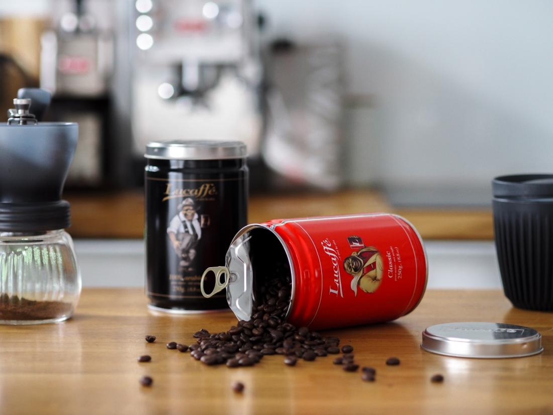 Włoska kawa Lucaffe