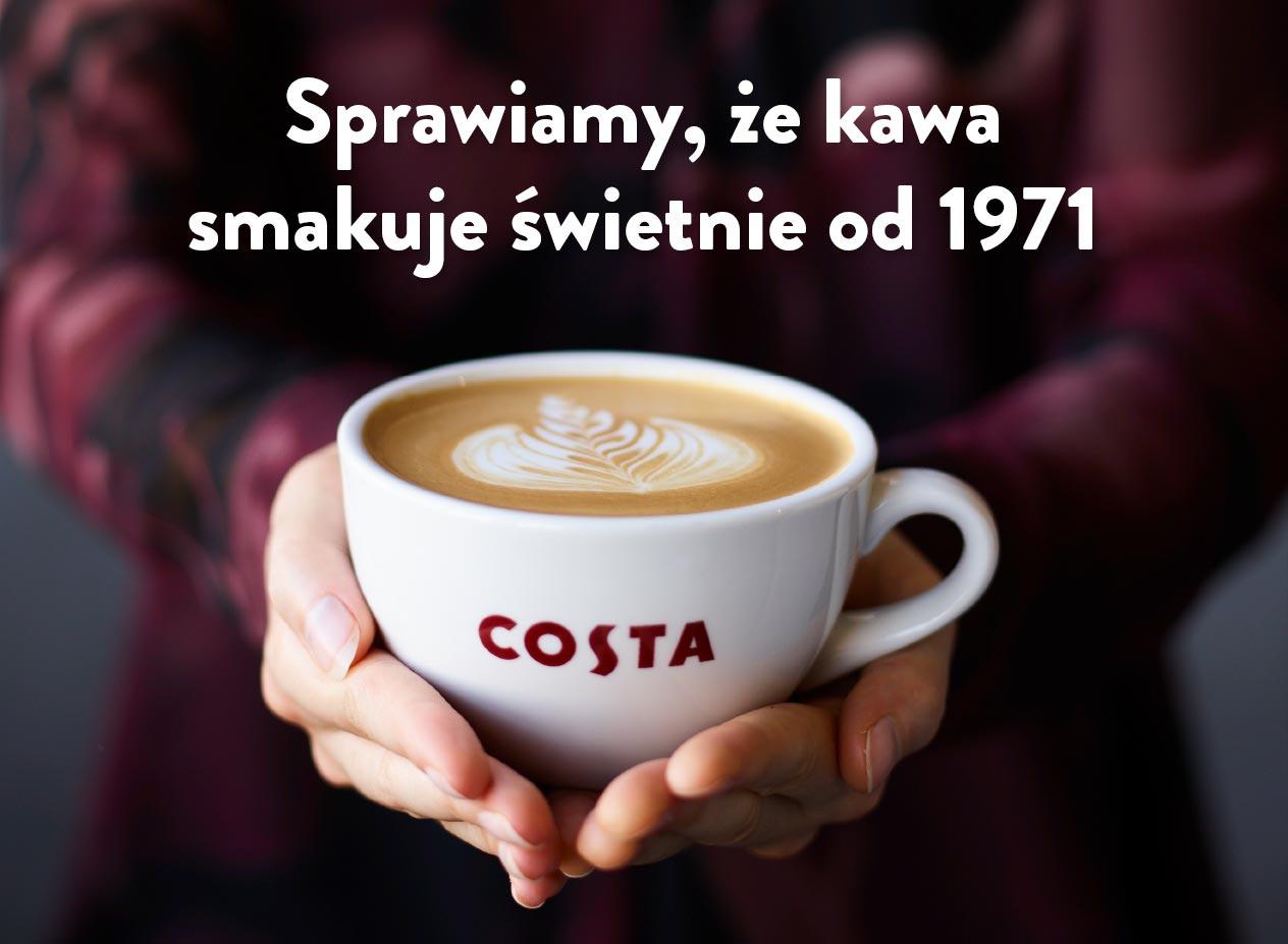 Kawa Costa - sprawiamy, że kawa smakuje świetnie od 1971
