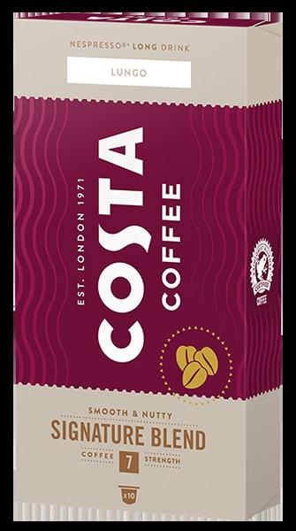KAWA W KAPSUŁKACH COSTA COFFEE SIGNATURE BLEND LATTE KOMPATYBILNA Z DOLCE GUSTO®* - 16 SZT.