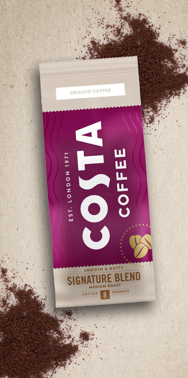 KAWA MIELONA COSTA COFFEE BRIGHT BLEND 200G