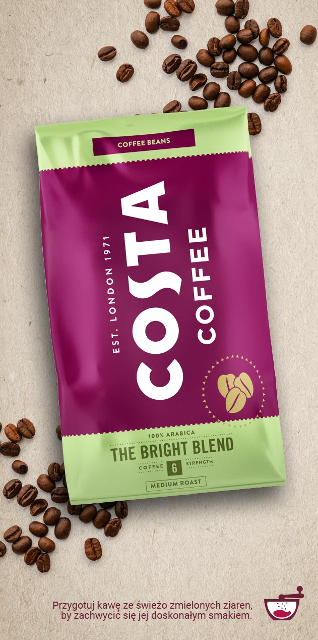 KAWA W KAPSUŁKACH COSTA COFFEE SIGNATURE BLEND AMERICANO KOMPATYBILNA Z DOLCE GUSTO®* - 16 SZT.