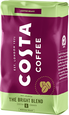KAWA KAWA ZIARNISTA COSTA COFFEE BRIGHT BLEND 1KG