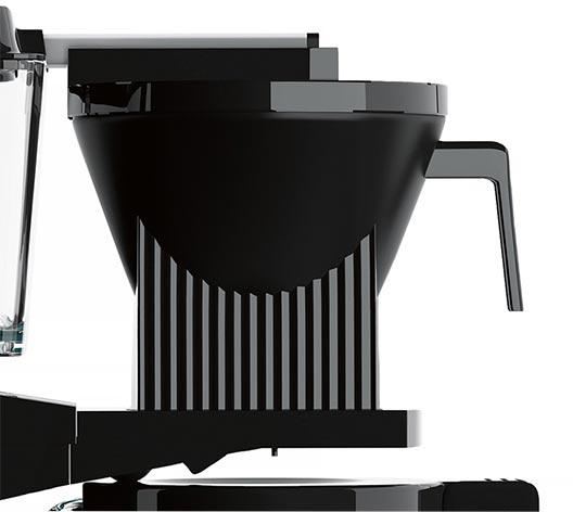 9-otworowy prysznic zraszający w ekspresie przelewowym Moccamaster KBG 741 Select