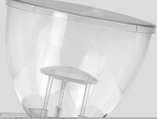 Pojemnik na ziarna 250g - żarnowy młynek Ascaso i-2 mini